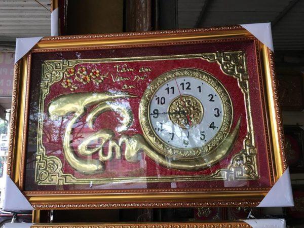 Sản phẩm đồng hồ chữ tâm bằng đồng