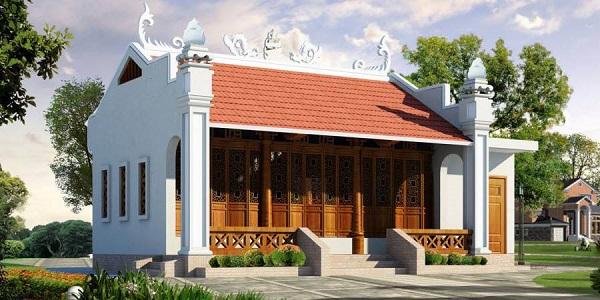 Thiết kế nhà từ đường tại Việt nam